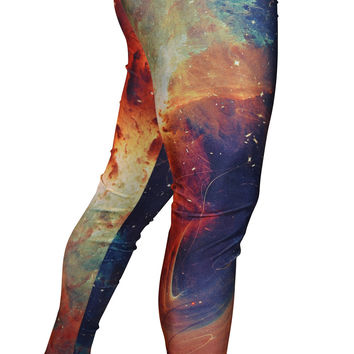 Fractal Print Leggings Design 537
