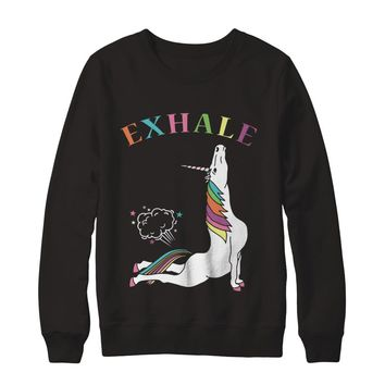 Unicorn Exhale Sweatshirt