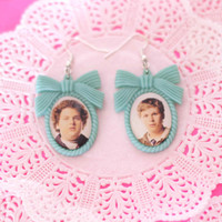 Superbad Jonah Hill and Michael Cera cameo earrings - Pixie and Pixier