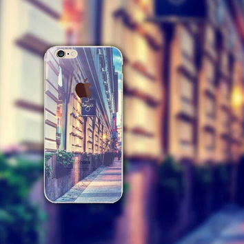 City Streets iPhone 5 5S iPhone 6 6S Plus creative case + Gift Box-126
