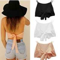 Camisole Crop Top [6259297284]
