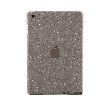 IPAD MINI GLITTER DECAL BLACK
