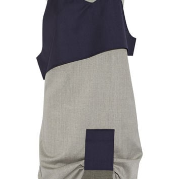 Jacquemus - Layered wool dress