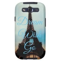 Dream Wish Go Samsung Galaxy S3 Case-Mate Vibe from Zazzle.com
