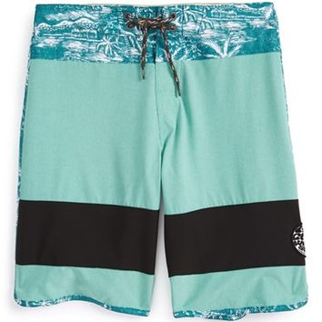 Boy's Rip Curl 'Mirage - Jammer' Scalloped Board Shorts,