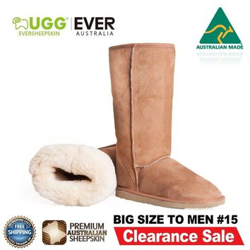 jacklish Ever UGG Australian Made Boots Tall Classic for Men