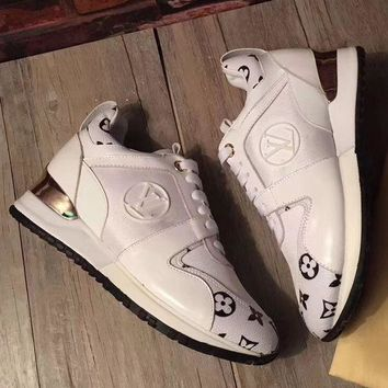LV Louis Vuitton Woman Trending Casual Sneakers Print Shoes I-1
