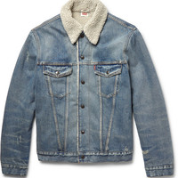 Levi's Vintage Clothing - Shearling-Lined Denim Jacket | MR PORTER