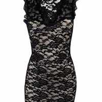 DREAM LACE V-NECK DRESS