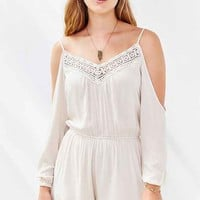 Ecote Floaty Cold Shoulder Romper