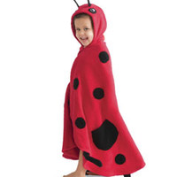 snug-as-a-ladybug towel-Chasing Fireflies