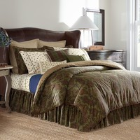 Chaps Home Beekman Place 300-Thread Count Sateen Reversible Bedding Collection
