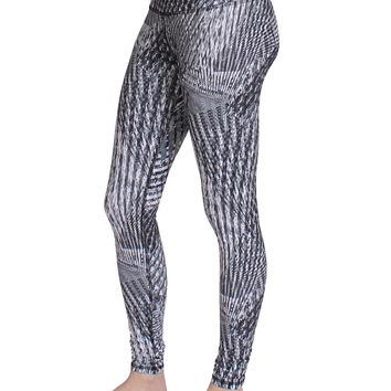 High Waisted Ferocity Leggings Static Final Sale