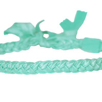 Bahama Teal Braided Headband Hair Accessory