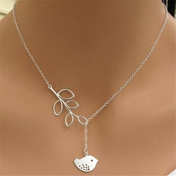 Hot Trendy Chain Steampunk Necklaces Simple Silver Infinity Lariat Bead Resin Chain Necklace Summer Style For Women N995A