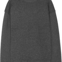 Jason Wu - Oversized textured stretch-knit sweater