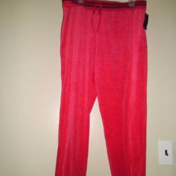 WOMAN'S ATTENTION LOUNGE PANT SIZE XL;FEELS LIKE VELVET;ELASTIC WAIST AND ANKLE