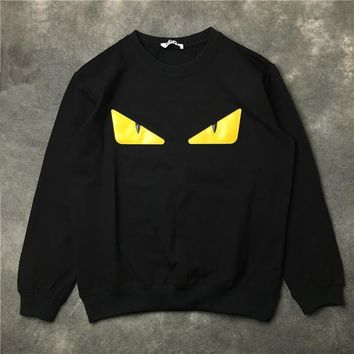 ca kuyou Fendi  Monster Sweatshirt