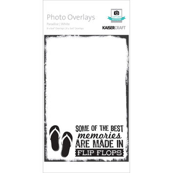 Photo Overlays 16/Pkg-Paradise