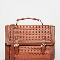 ASOS Large Punchout Satchel Bag