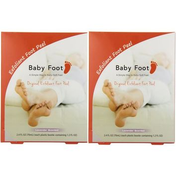 Baby Foot Lavender Easy Pack 1.2-ounce Exfoliant Foot Peel (Pack of 2) | Overstock.com Shopping - The Best Deals on Foot Care