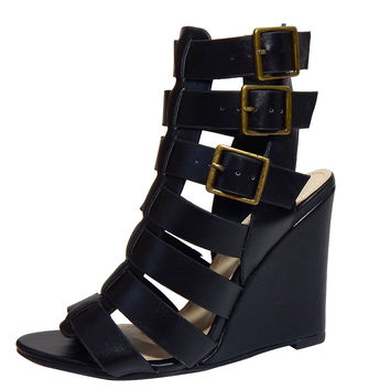 Simply Strapped Gladiator Wedges