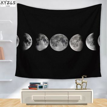 XYZLS Europe Planet Wall Tapestry Rectangle Universe Beach Towel 150*200cm Moon Shawl 150*130cm Home Textile Sofa Cover Blanket