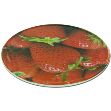Round Trivet with Strawberry Design ( Case of 12 )