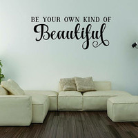 Vinyl Wall Words, Home Decor, Wall Words by WrittenOnYourWall
