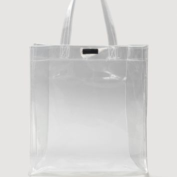 Vinyl shopper bag