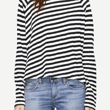 Shop the Camden Striped Long-sleeve Tee on rag & bone