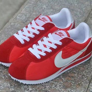 nike cortez classic unisex sport casual cloth surface running shoes couple retro sneakers-4
