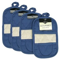 Ritz Royale Collection Ritz Mitz Set, Federal Blue, 4-Piece