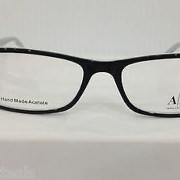 Armani Exchange AX144 Col 0YGW Black Plastic Eyeglasses Frame 53mm 16mm 140mm