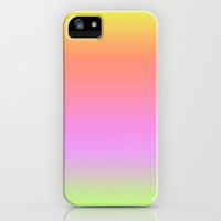 Sunset Gradient Yellow Orange Pink iPhone Case by xjen94 | Society6