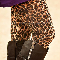 GIRLS GONE WILD LEOPARD LEGGINGS