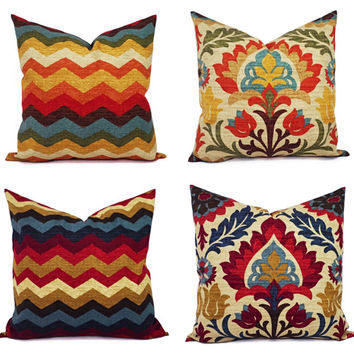 Best Orange And Blue Accent Pillows Products on Wanelo