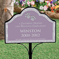 Personalized Pet Memorial Magnetic Sign