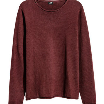 H&M Fine-knit Cotton Sweater $19.99
