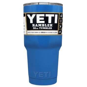 Promotional YETI 30 oz Play Blue Custom Tumbler