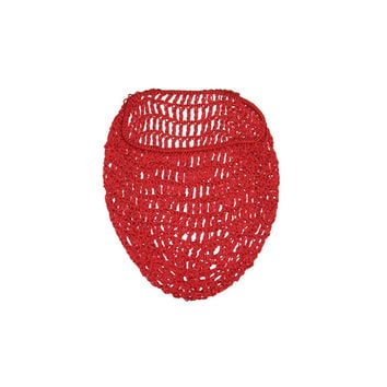 Red Snood Hair Net