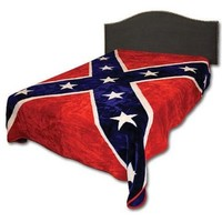 Confederate Rebel Flag 215 Blanket