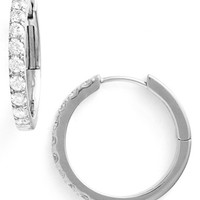 Women's Bony Levy Diamond Hoop Earrings (Limited Edition) (Nordstrom Exclusive)