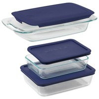 Pyrex® Easy Grab 6-Piece Value Pack Bakeware Set