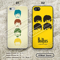 The Beatles iPhone 5 Case, The Beatles iPhone 5/5s/5c Hard Case Rubber Case, cover skin case for iPhone 5 5s 5c case