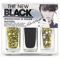 The New Black Demi Lovato 3pc Nail Set Shattered Ulta.com - Cosmetics, Fragrance, Salon and Beauty Gifts