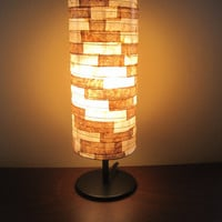 Table Lamp Unique Lamp Shade COFFEE FILTER Table Light by Lampada