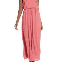 Lush Ruffle Maxi Dress | Nordstrom