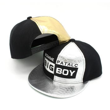 Korean Silver Hip-hop Baseball Cap Ladies Hats [4917718276]