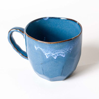Blue Cumulus Ceramic Mug